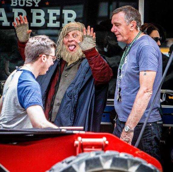 Il nuovo look di Anthony Hopkins sul set di Thor: Ragnarok
