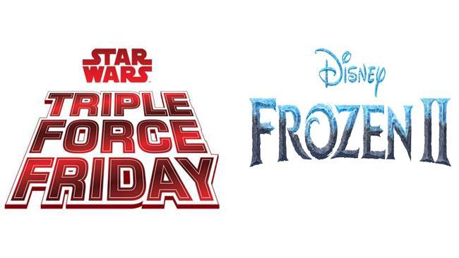 Star Wars Triple Force Friday e il Frozen Fan Fest