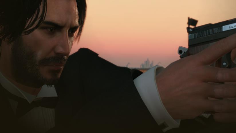 Keanu Reeves come John Wick in Metal Gear Solid V