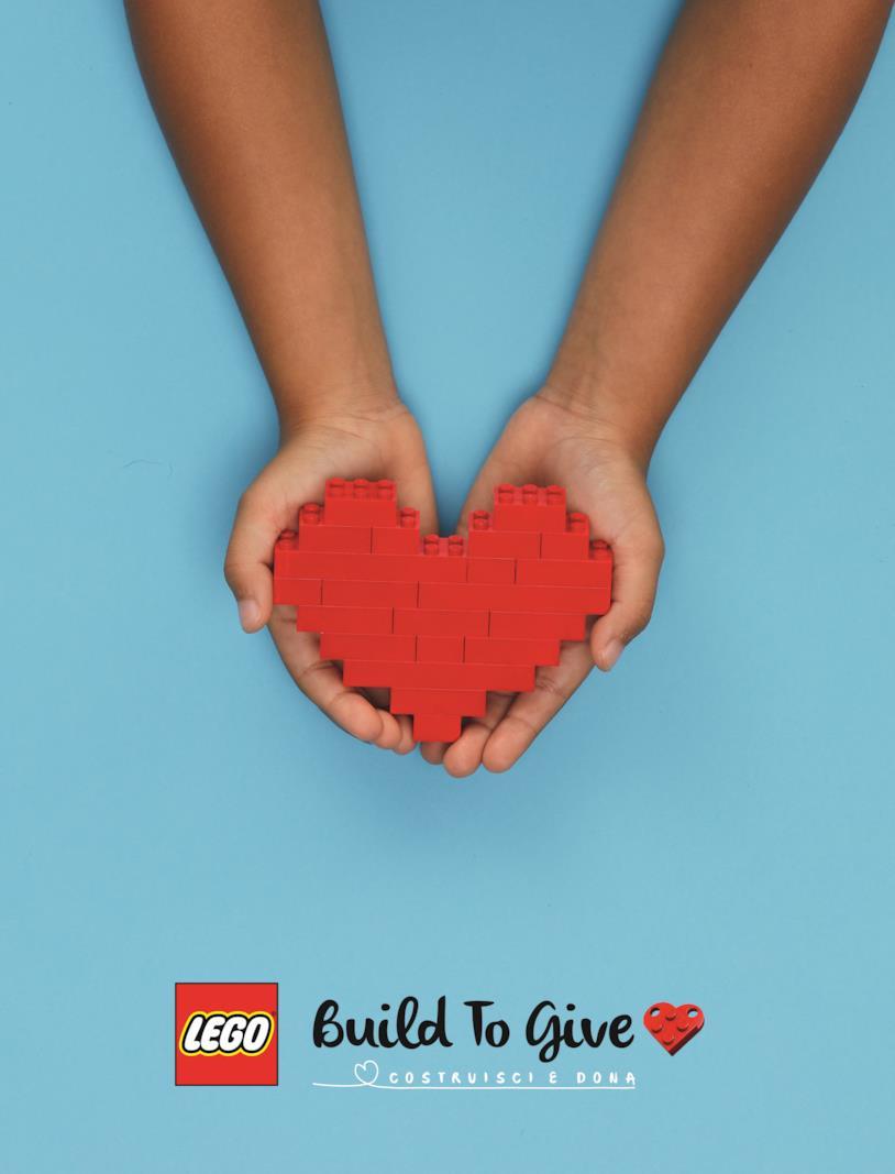 Build to Give - Costruisci e Dona punta a regalare 10.000 set LEGO ai bambini in ospedale