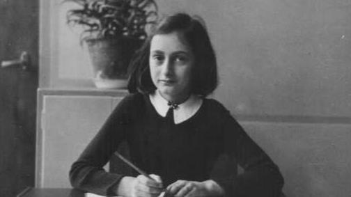 La giovane Anne Frank