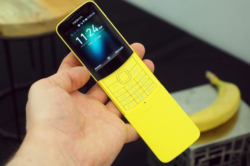 La variante gialla del Nokia 8110