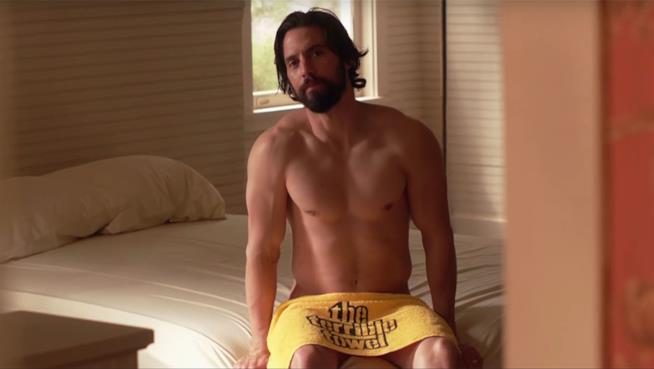 La scena di nudo di Milo Ventimiglia in This is Us