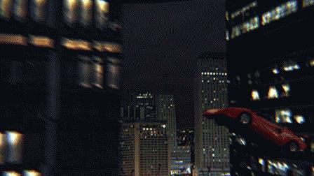 Kunf Fury durante uno dei suoi improbabili stunt nel primo film