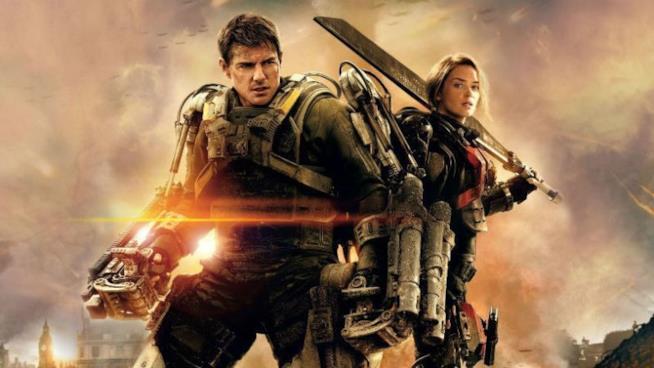 I protagonisti di Edge of Tomorrow: Tom Cruise ed Emily Blunt