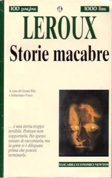 La copertina di Storie macabre