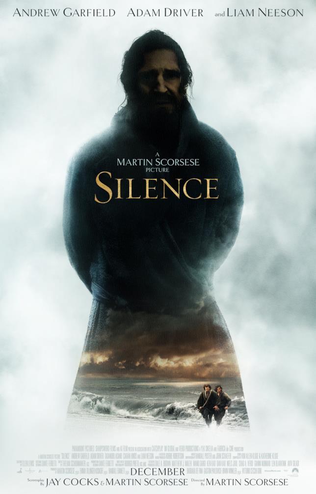 Il poster del nuovo film di Martin Scorsese, Silence