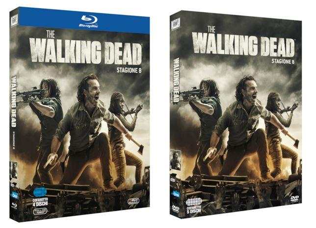 Le edizioni italiane di The Walking Dead 8 in Home Video