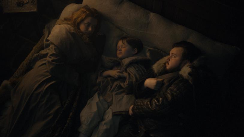 GoT 8: Gilly, il piccolo Sam e Sam a Grande Inverno