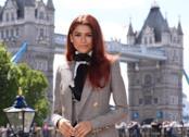 Zendaya alla presentazione di Spider-Man: Far Form Home a Londra