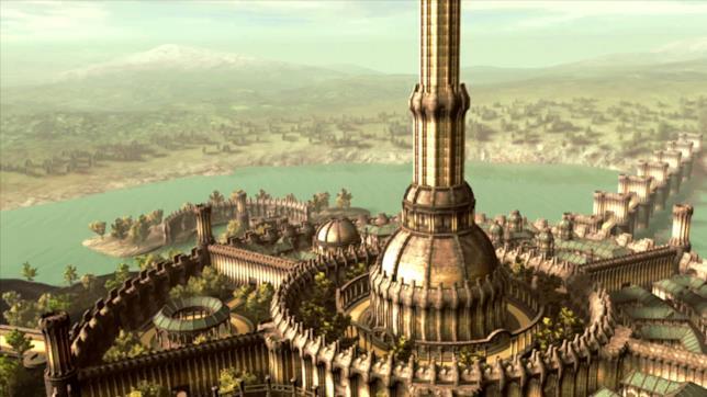 La Città Imperial di The Elder Scrolls IV