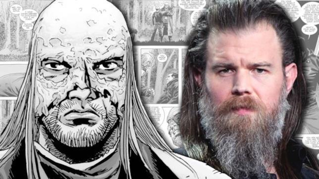 The Walking Dead: Beta nel fumetto e il suo interprete in TV