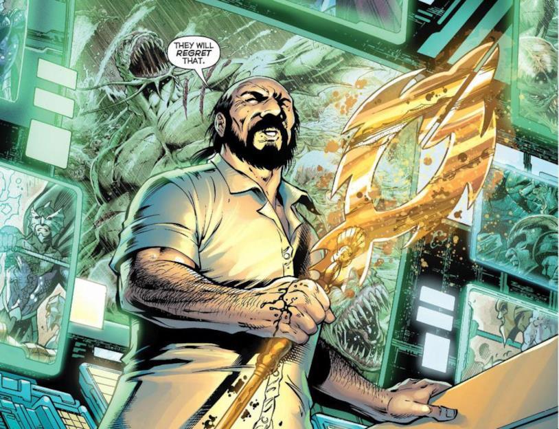 Nuidis Vulko nel fumetto Justice League #16