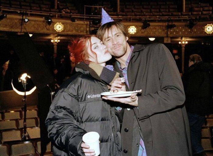 Jim Carrey e Kate Winslet nel 1994