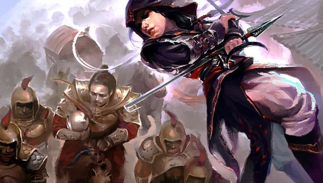 Una fan art di Assassin's Creed Chronicles: China