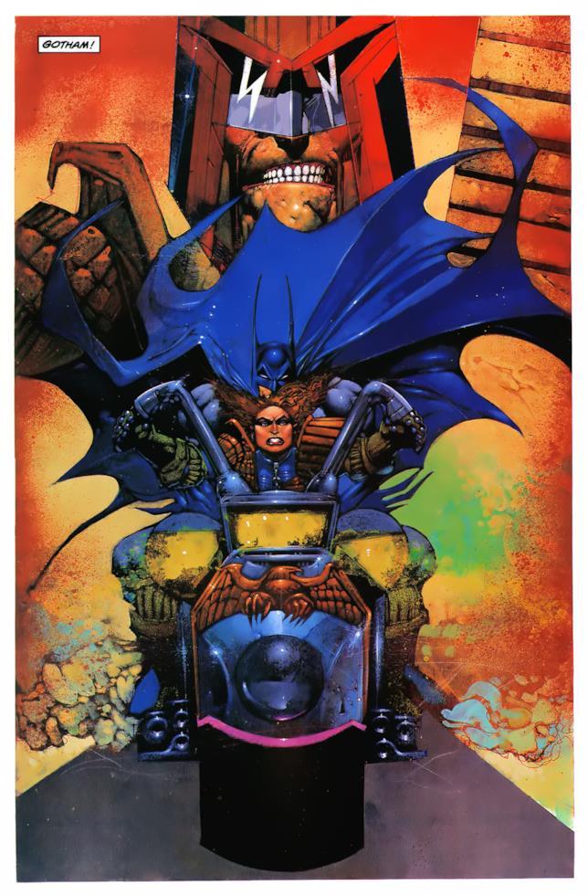 Immagine di Giudice Dredd e Batman