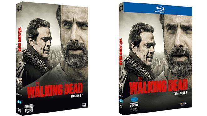 Negan (jeffrey Dean Morgan) e Eugene (Josh McDermitt) in The Walking Dead