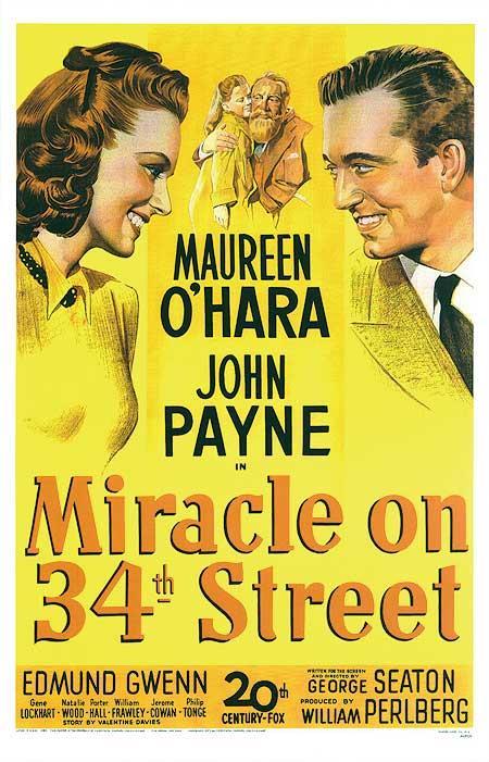 La locandina del film Il Miracolo della 34esima Strada