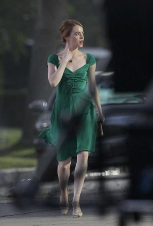 L'abito verde di Emma Stone in La La Land