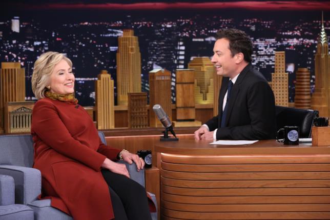 Jimmy Fallon ospita Hillary Clinton