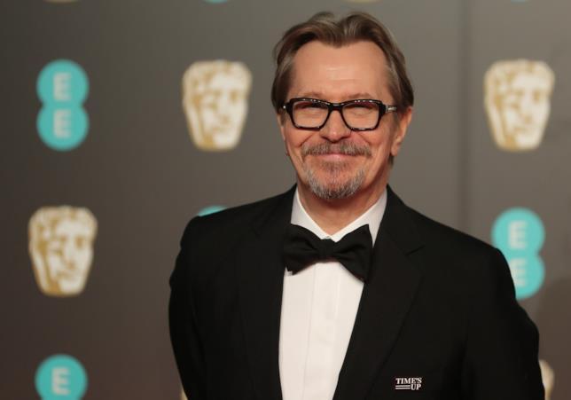 Gary Oldman ai BAFTA 2018