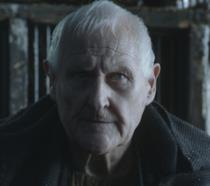 Peter Vaughan in una scena di Game of Thrones
