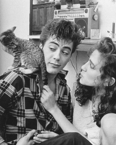 1991: Robert Downey Jr. e Sarah Jessica Parker