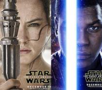 Rey e Finn del Risveglio della Forza