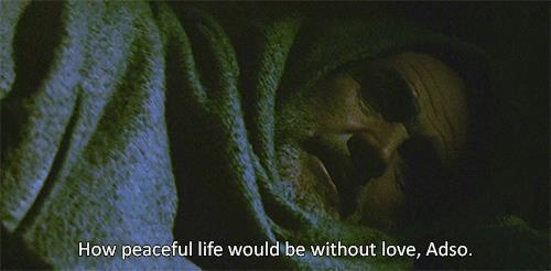 Guglielmo da Baskerville nel film di Il nome della rosa