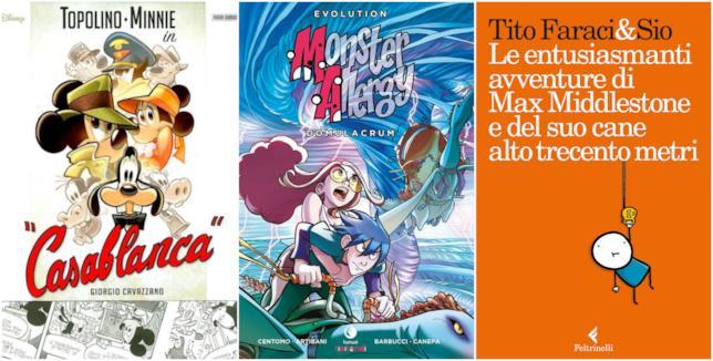 Tre fumetti da regalare a Natale per grandi e piccini