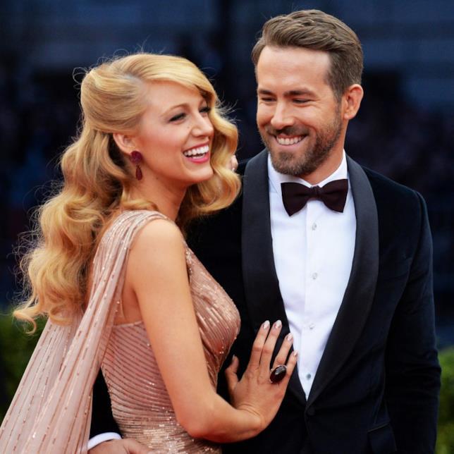 Blake Lively e Ryan Reynolds sul red carpet