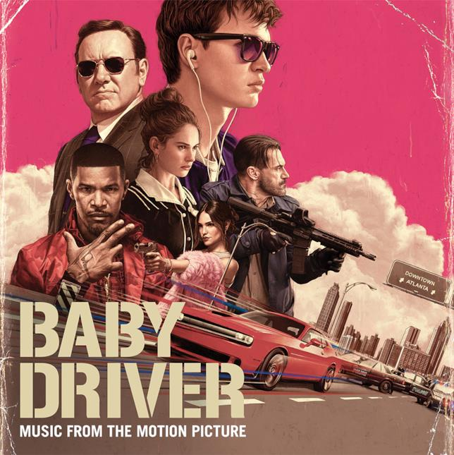 La copertina dell'album musicale di Baby Driver
