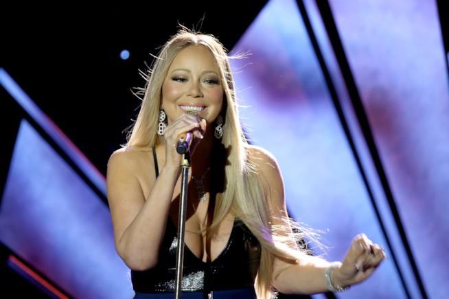 La cantante e attrice Mariah Carey, già protagonista di Mariah's World