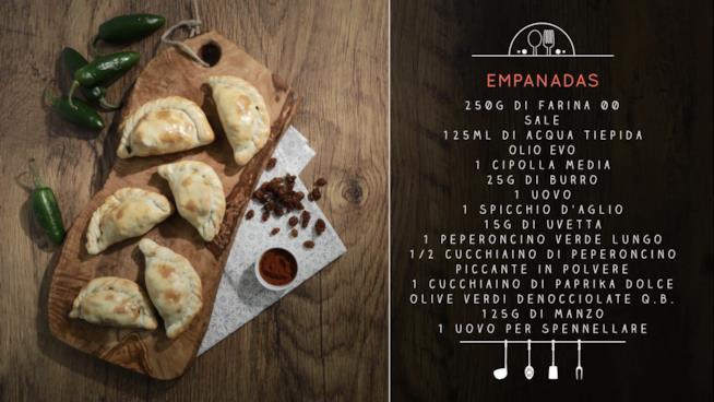 La ricetta delle empanadas
