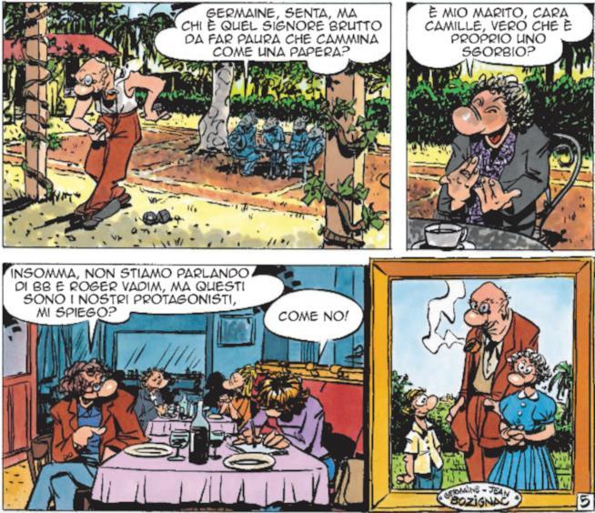 Pennac ricorda la coppia di Jean e Germaine
