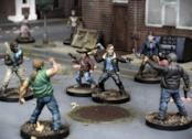 Il gioco di miniature di The Walking Dead