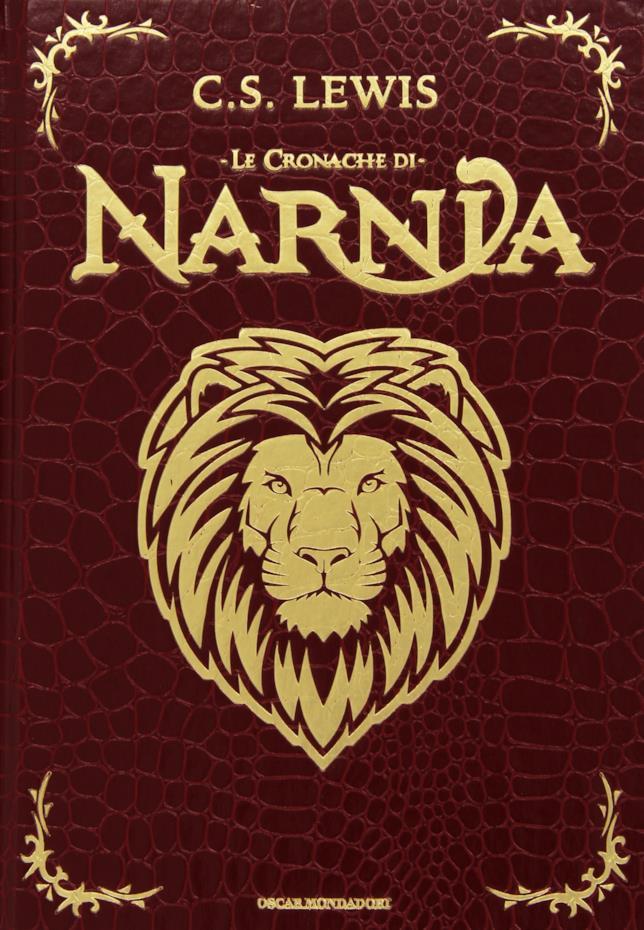 Copertina del volume unico delle Cronache di Narnia