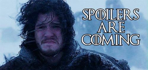 Jon Snow ci avvisa che gli spoiler stanno arrivando