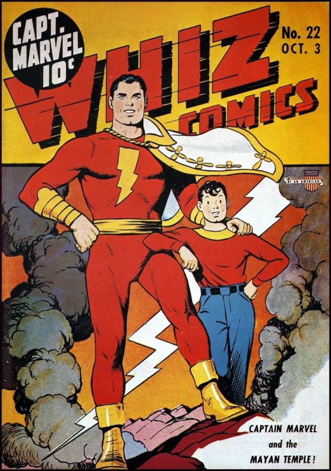 Shazam e il suo alter ego, Billy Batson