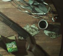 Il fucile a pompa di Resident Evil 7