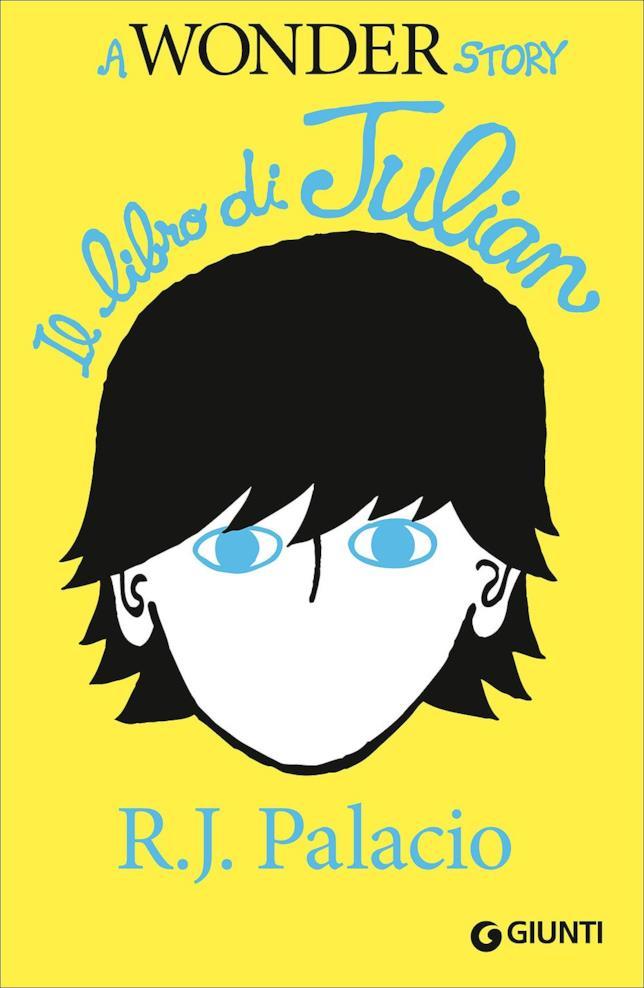 Julian con la copertina gialla