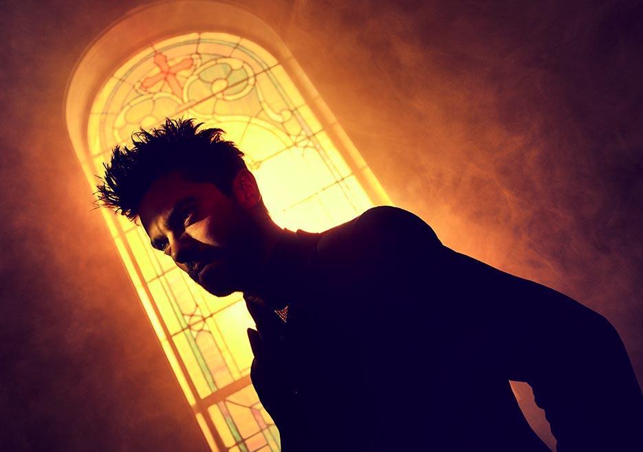 Jesse in chiesa nella serie TV Preacher