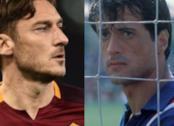 Francesco Totti e Sylvester Stallone nella cover