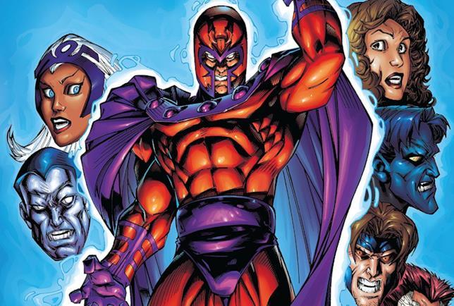 Cover di X-Men: The Magneto War