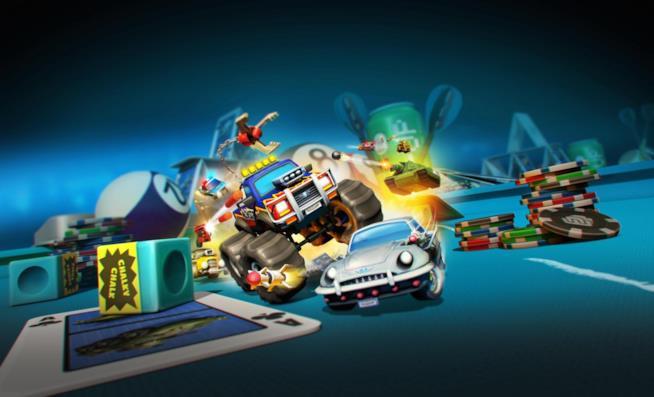 La cover ufficiale di Micro Machines World Series