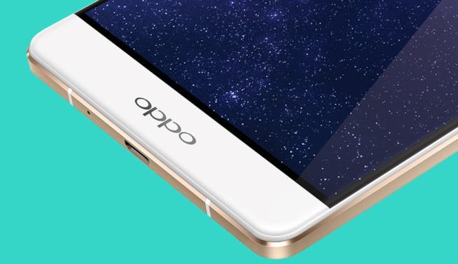 Immagine stampa di uno smartphone a marchio Oppo