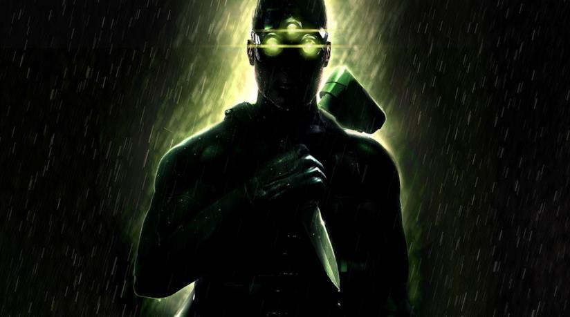 Sam Fisher sulla cover di Splinter Cell: Chaos Theory