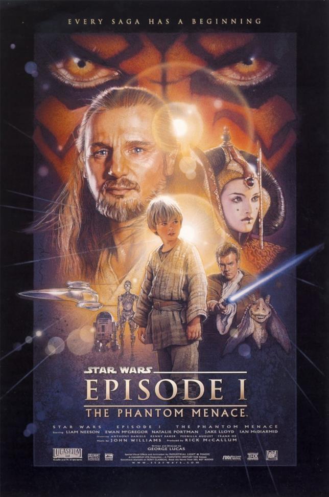 Poster di Star Wars la minaccia fantasma