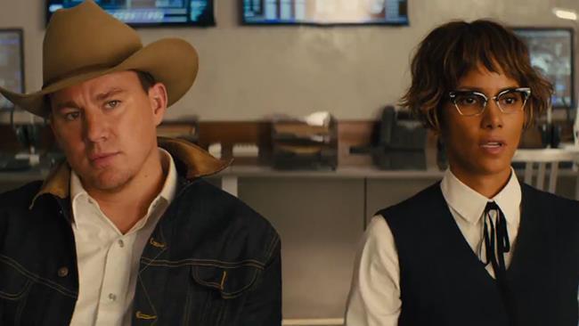 Channing Tatum e Halle Berry in Kingsman: Il Cerchio d'Oro