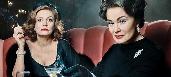 Susan Sarandon e Jessica Lange saranno Bette Davis e Joan Crawford